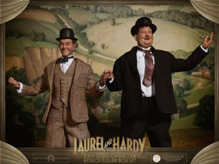 *Pre Order* Big Chief Studios 1:6 Limited Edition Laurel & Hardy 2-Pack